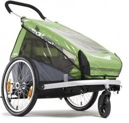 Sadesuoja Croozer Kid/Kid Plus for 2 -kuljettimeen